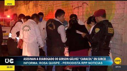 El exabogado de 'Caracol' fue asesinado a balazos en Surco