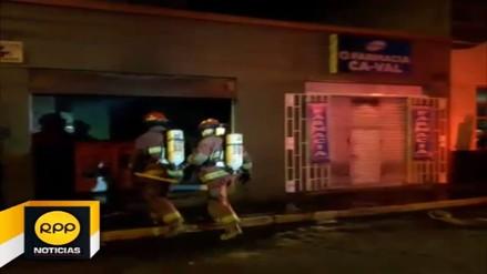 Segundo incendio se registró en menos de 24 horas en Arequipa