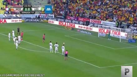 Raúl Ruidíaz perdió un penal en el duelo entre Monarcas Morelia y León