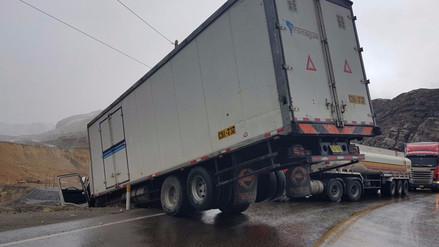 Tres accidentes se produjeron en menos de un día en La Oroya