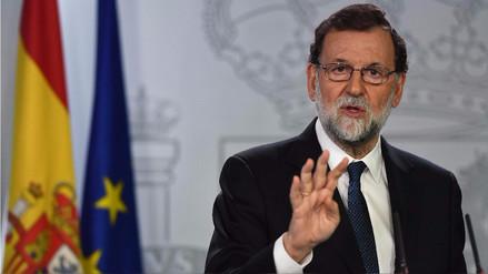 El Gobierno de España acordó cesar a Puigdemont y convocar a elecciones en Cataluña