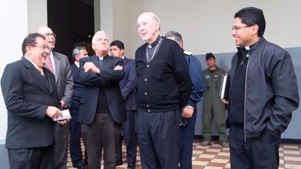"""Cipriani: """"Las tareas para la misa del papa van lentas y atrasadas"""""""