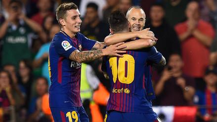 Barcelona derrotó al Málaga y sigue liderando la Liga de España