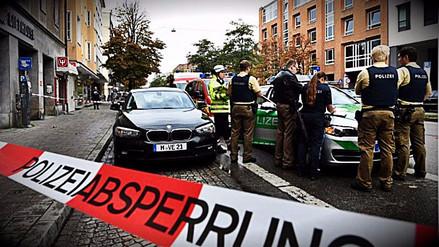 Ocho personas heridas tras ataque con cuchillo en Alemania