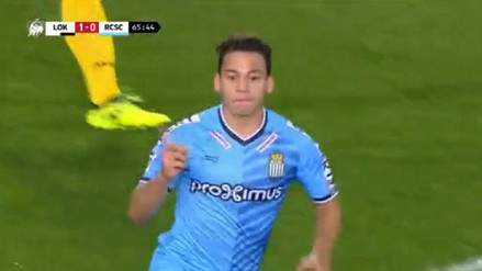 Cristian Benavente marcó un golazo en Bélgica tras gran jugada colectiva