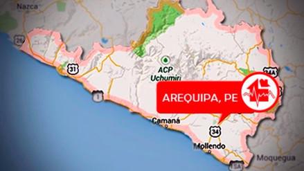 Un sismo de 5.1 de magnitud sacudió Arequipa esta noche
