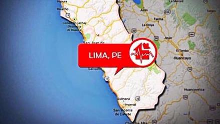 Un sismo de 4.7 de magnitud se registró esta noche en el Callao