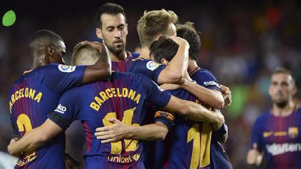 Ernesto Valverde premió a siete jugadores del primer equipo del Barcelona