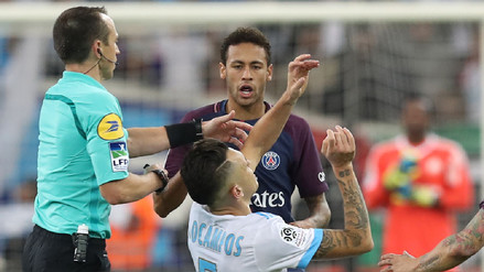 Gol y expulsión: así fue el accidentado partido de Neymar con el PSG