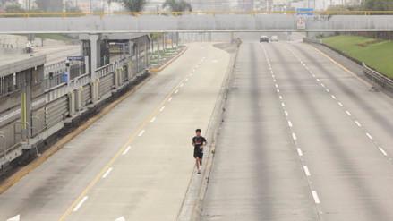 Las calles de Lima lucieron vacías mientras se realizó el Censo Nacional 2017
