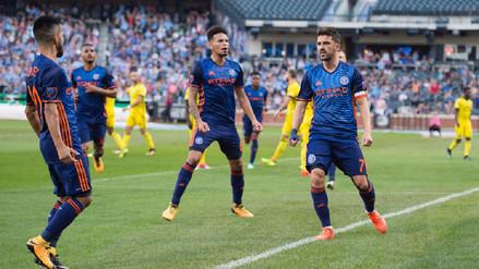 Alexander Callens clasificó a los playoffs de la MLS con el New York City