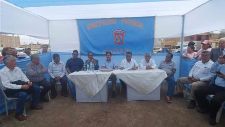 Alcaldes de Lambayeque respaldan a Pablo de La Flor