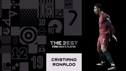 Cristiano Ronaldo ganó el premio The Best de la FIFA