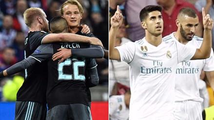 Ajax, club con más jugadores en Europa y Real Madrid, en las cinco grandes