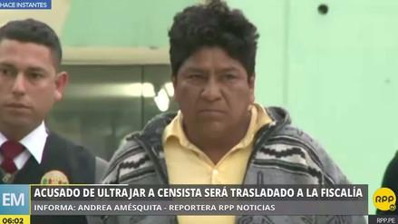 Sujeto acusado de violar a empadronadora del censo volvió a comisaría en Villa El Salvador