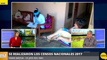 "Farid Matuk: ""Con certeza, la omisión censal en Lima rebasa el 5%"""