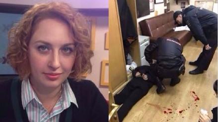 Una periodista opositora al Gobierno ruso fue acuchillada en los estudios de una radio