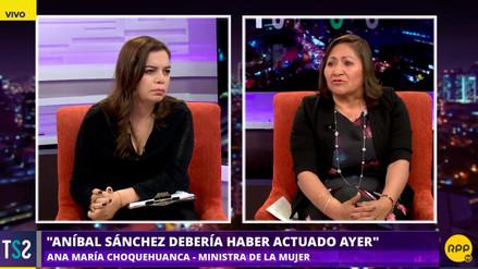 Ministra de la Mujer se quiebra en vivo: