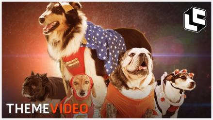 YouTube | Crean tráiler de 'Justice League' con perros