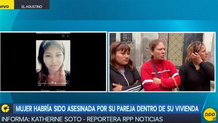 Una mujer fue asesinada a puñaladas en su vivienda en El Agustino