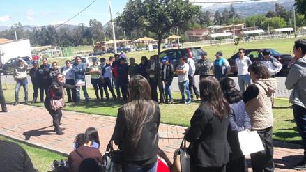 Judiciales de Cajamarca acatan huelga indefinida