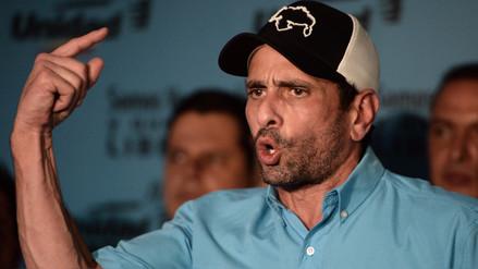 Henrique Capriles anunció su retiro de la coalición opositora en Venezuela