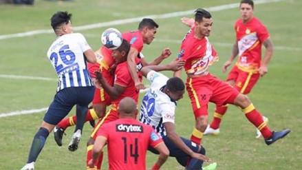 Alianza Lima cayó por 4-2 de visita ante Huancayo en su lucha por el Clausura