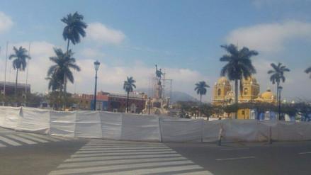 Trujillo: Remodelación de la plaza de armas está en 25,8%