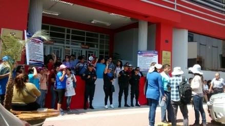 Chimbote: trabajadores judiciales acatan huelga nacional indefinida