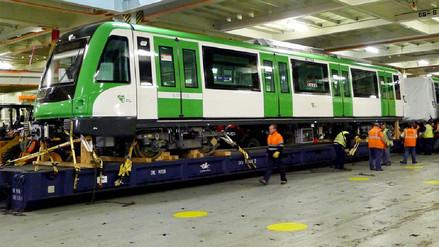 Giuffra: El 31 de octubre llega el primero de 20 trenes para Línea 1 del Metro de Lima