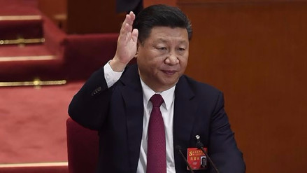 El presidente de China es elegido para un segundo mandato de 5 años