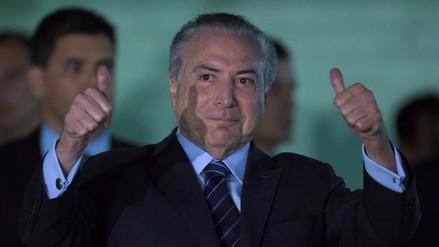 Congreso de Brasil salva por segunda vez a Michel Temer de juicio por corrupción