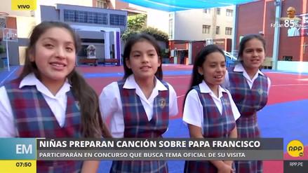 Un grupo de niñas compuso una canción al papa Francisco con la ilusión de conocerlo