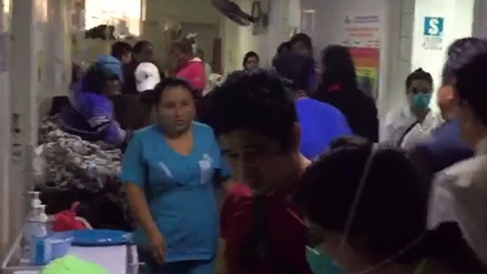 Trujillo: pacientes con TBC son atendidos en pasillos del hospital Belén