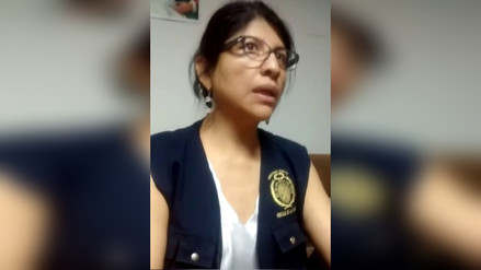 Fiscal de Nazca fue agredida durante intervención