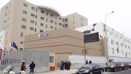 Bebé que fue violada por su padre en Áncash fue trasladada al Hospital del Niño