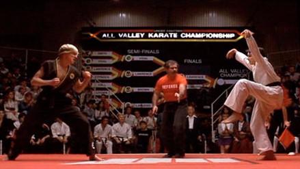 Protagonistas de 'Karate Kid' se reencuentran en set de 'Cobra Kid'