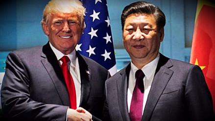 Donald Trump felicitó a Xi Jinping por su