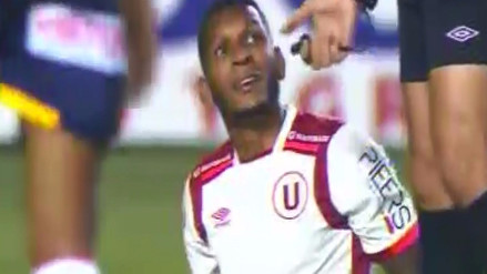 Alberto Quintero se lesionó en el duelo entre Universitario y Sport Rosario