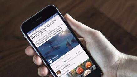 Facebook analiza cambiar la forma de ver noticias