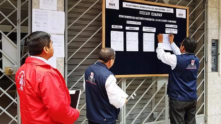 Eligen a miembros de mesa para las elecciones del 10 de diciembre en Junín