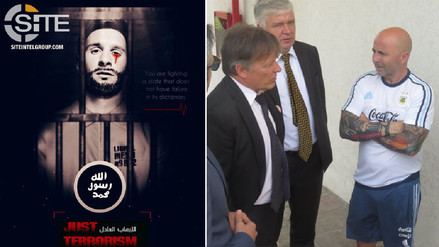 Sampaoli y AFA se reunieron con embajador ruso tras amenaza de ISIS a Messi