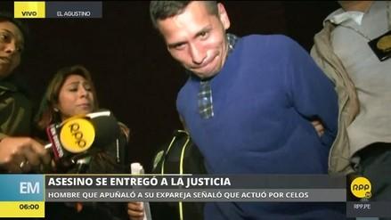 Hombre confesó ante la Policía que asesinó a puñaladas a su expareja