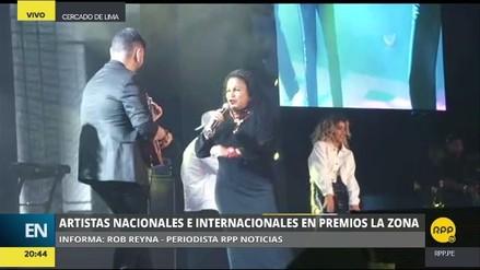 Video | Eva Ayllón cantó 'Despacito' en los premios La Zona