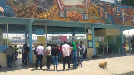 Estudiantes mantienen tomado campus de Universidad Nacional de Cajamarca