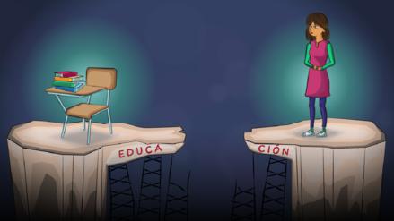 El sistema educativo refleja la enorme desigualdad de género en el Perú