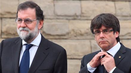 Rajoy destituyó a Puigdemont, disolvió el Parlamento de Cataluña y convocó elecciones