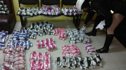 Decomisan mercadería de contrabando por más de cinco millones de soles