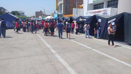 Aduanas realiza campaña social en distrito de Reque
