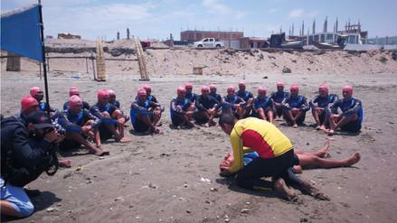 Instalan servicio de salvataje en dos playas de Lambayeque